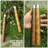 Double Stick Murah Nunchaku Ruyung