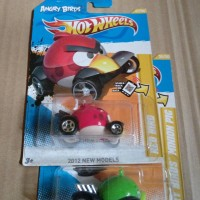 hot wheels angry bird 2012 - new model