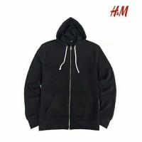 Jaket Hnm H&M Hoodie Full Ziper Jacket Original