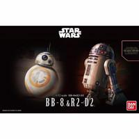 Bandai 1 12 BB-8 & R2-D2 BB8 R2D2 Plamo Model Plastic Star Wars