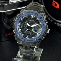 Jam tangan Pria Digitec Rantai AB730 Black Blue T1310