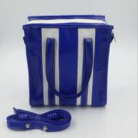 Nila Anthony - Tote Stripe Bag Blue