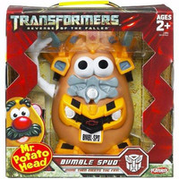 MAINAN TOY STORY MR POTATO HEAD PLAYSKOOL TRANSFORMERS BUMBLE BEE SPUD