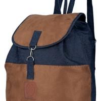 Tas Backpack / Ransel Wanita jeans Biru Raindoz RKB 002 Berkualitas