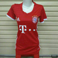 Jersey Bola LADIES Grade ORI Bayern Munchen Home Official 2016-2017