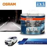 Toyota Avanza LED Osram Lampu Kabut (Fog Lamp) NBR Plus HB4