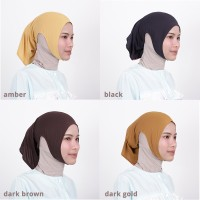 Zoya Inner Kerudung Ciput Hijab - Ciput Telinga Naya