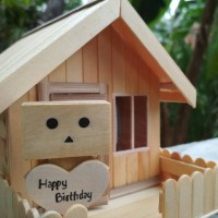 Jual Lampu Tidur Hias Miniatur Rumah Danbo Unik Kado Ulang Tahun Hadiah Murah