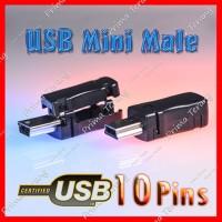 SALE! 10 Pin Soket Mini USB Male Plug Konektor Kabel GoPro Hero Pinout