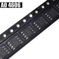 MURAH ORI AO4606 MT4606 SI4606 AO 4606 MOSFET SOP-8 SMD IC AK59