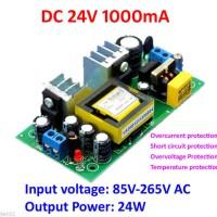 HARGA DISKON AC-DC 85-265V to 24V 1A 24W Switch Power Supply Isolation
