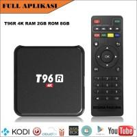 PREMIUM [ FULL APLIKASI ] - T96R 4K ANDROID TV BOX TVBOX RAM 2GB ROM 8