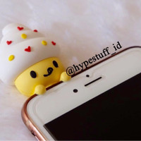 3D Case Squishy Toys Iphone Samsung All Type (C3-Yellow Cream)