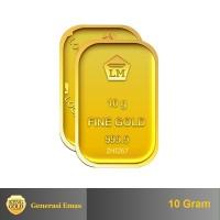 ANTAM - Emas 10 Gram - Logam Mulia 999.9 Sertifikat Antam