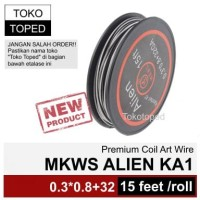 Authentic MKWS ALIEN Kanthal A1 wire | rda rta coil khantal kantal