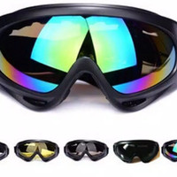Kacamata Ski Goggles , Helm Cross Trail Downhill Airsoftgun