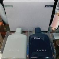 Original Parfum Zara Weekend Men Gift Set Isi 2pcs