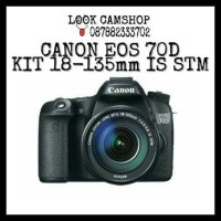 KAMERA DSLR CANON EOS 70D 70 D KIT 18-135mm IS STM - WIFI