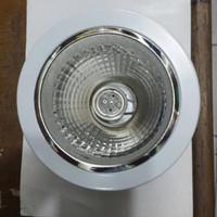Downlight Plafond ukuran 4 in / 4 inch Warna Putih 3 kaki merk ISACOM