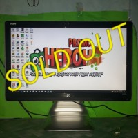 LCD Monitor Komputer HP 25inch wide 2509P Full HD HDMI