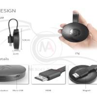 Google Chromecast 2 G1 Wireless WiFi HDMI Display Receiver Dongle TE