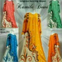 Jual daster gamis Muslim baju tidur dewasa longdress batik Murah