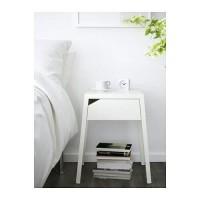 Harga Grosir Ikea Selje Meja Samping Tempat Tdr Putih 46x37 Steel Bed