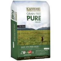 GRAIN FREE CANIDAE GRAIN FREE PURE LAND (FRESH BISON & LAMB MEAL) 24LB