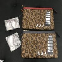 pouch bonia monogram italy design 8 inci