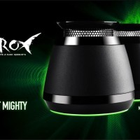 Razer Ferox 2013 - Mobile Gaming & Music Speakers (Free Pouch)