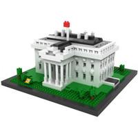 LOZ 9386 Architecture Nano Nanoblock The White House