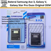 Baterai Handphone Samsung Galaxy J1 Mini J105 Original | Battery, SEIN