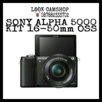 KAMERA MIRRORLESS SONY ALPHA 5000 A5000 ALFA 5000 KIT 16-50mm OSS