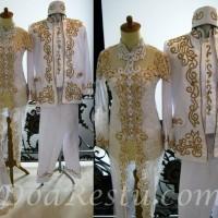 Harga kebaya couple pengantin mewah payet jepang modern muslimah | DEMO GRABTAG