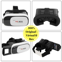 TERLARIS VR BOX 2 / 3D / REALITY BOX / 360 , LENSA 42 MM 100% ORI