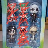 Jual ORIGINAL Hot Toys Cosbaby Suicide Squad Deadshot El Diablo Katana Murah