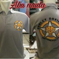 harga Kaos Kerah/polo Shirt Keren Harley Davidson 17 Tokopedia.com
