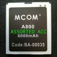 Baterai/battery Mcom Double Power Mito A800(ba-00035)