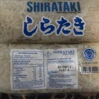 wet shirataki noodles / mie ( diet Keto / diabetes )