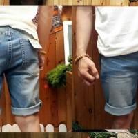 celana jeans pull and bear soft blue gradation 28-32
