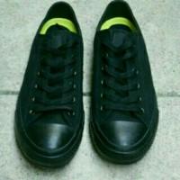 Sepatu Converse CT Full black hitam Polos Sepatu Sekolah Traning Kerja