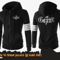 Jaket Anime Band The Gazette 4 Strip Jacket Hoodie (JJ GAZ 02)