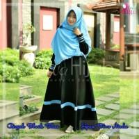 kerudung Segi empat Polos - Jilbab Pon (Jipon) warna biru muda