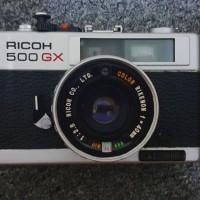 Ricoh 500 GX Analog 35mm