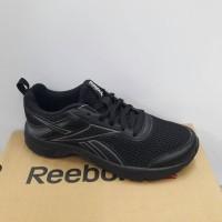 sepatu hitam polos reebok ori asli original termurah