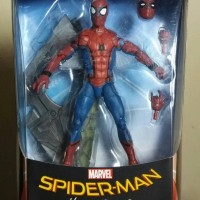 Marvel Legends Spiderman Spider Man Hasbro SHF Revoltech Size ORI