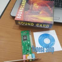 harga Pci Sound Card Mic Line In Spk 1 Spk 2 Tokopedia.com