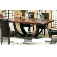 Set meja makan minimalis jati,