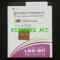 Baterai/battery Log On Double Power Mito A700(ba-00089)