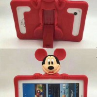 harga Universal Tablet 7 Inch Cartoon Mickey Soft Case Casing Cover Stand Tokopedia.com